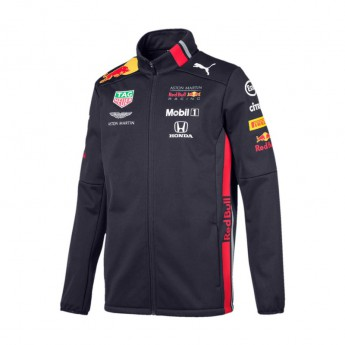 Red Bull Racing pánská bunda softshell navy Team 2019