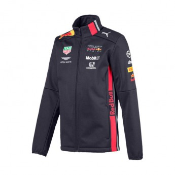 Red Bull Racing dětská bunda softshell navy Team 2019
