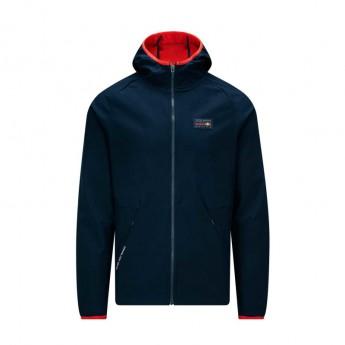 Red Bull Racing pánská bunda s kapucí navy softshell Logo Team 2019