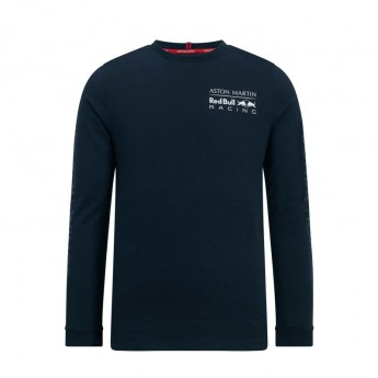 Red Bull Racing pánské tričko s dlouhým rukávem navy long Team 2019