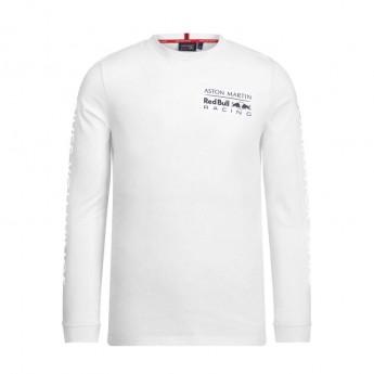 Red Bull Racing pánské tričko s dlouhým rukávem white long Team 2019