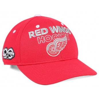 Detroit Red Wings čepice baseballová kšiltovka 100th Celebration Structured Adjustable