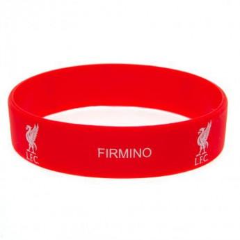 FC Liverpool silikonový náramek Silicone Wristband Firmino