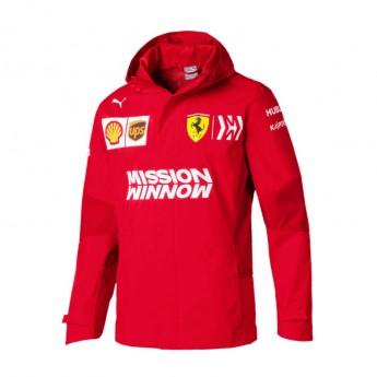 Ferrari pánská bunda s kapucí Rain red F1 Team 2019