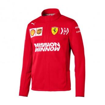 Ferrari pánská bunda red softshell F1 Team 2019