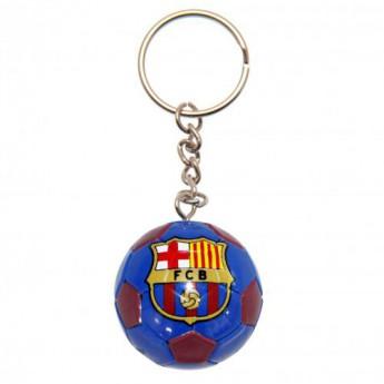 FC Barcelona přívěšek Football Keyring