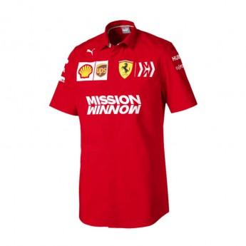 Ferrari pánská košile red F1 Team 2019
