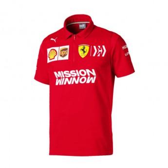 Ferrari pánské polo tričko red F1 Team 2019