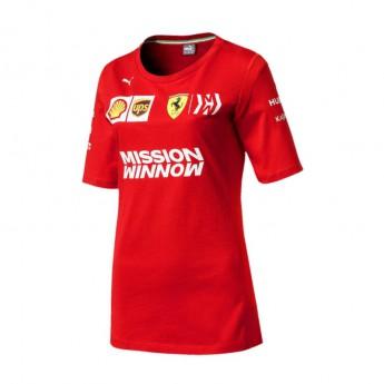 Ferrari dámské tričko red F1 Team 2019