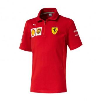 Ferrari dětské polo tričko red F1 Team 2019