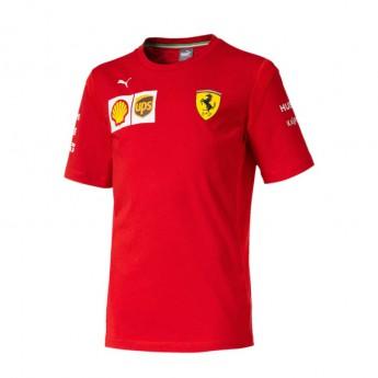 Ferrari dětské tričko red F1 Team 2019