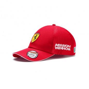 Ferrari čepice baseballová kšiltovka red Vettel F1 Team 2019