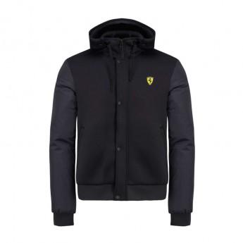 Ferrari pánská bunda s kapucí black Bomber F1 Team 2019