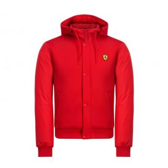 Ferrari pánská bunda s kapucí red Bomber F1 Team 2019