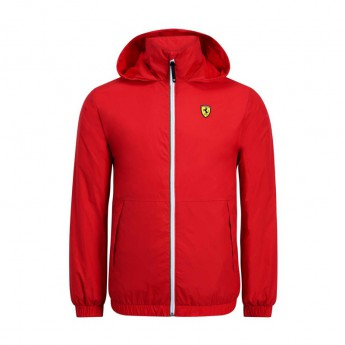 Ferrari pánská bunda s kapucí red Windbreaker F1 Team 2019