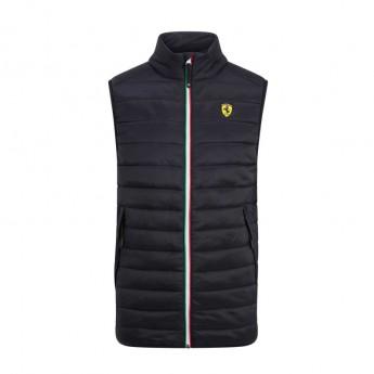 Ferrari pánská vesta black Padded F1 Team 2019