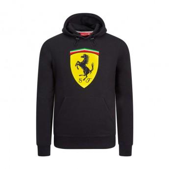 Ferrari pánská mikina s kapucí black Logo F1 Team 2019