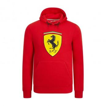 Ferrari pánská mikina s kapucí red Logo F1 Team 2019