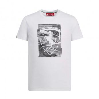 Ferrari pánské tričko white Collage F1 Team 2019