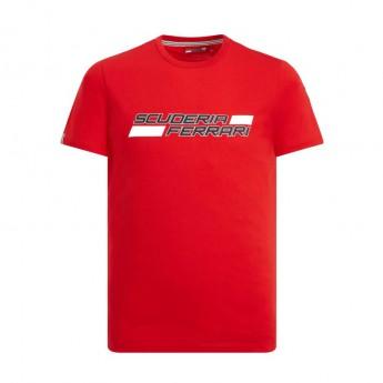 Ferrari pánské tričko Logo red F1 Team 2019