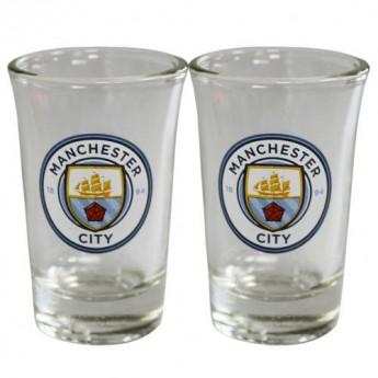 Manchester City panák štamprle 2pk Shot Glass Set
