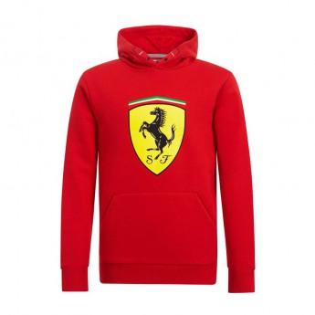Ferrari dětská mikina s kapucí Logo red F1 Team 2019