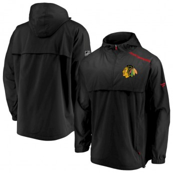 Chicago Blackhawks pánská bunda Authentic Pro Rinkside Anorak 1/4-Zip