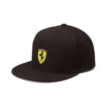 Ferrari čepice flat kšiltovka Flat Brim black F1 Team 2019