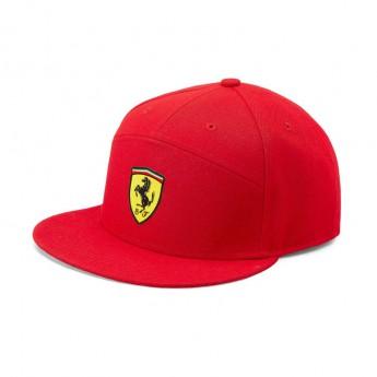 Ferrari čepice flat kšiltovka Flat Brim red F1 Team 2019