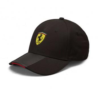 Ferrari čepice baseballová kšiltovka Carbon black F1 Team 2019