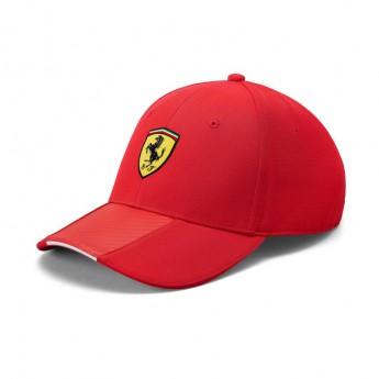 Ferrari čepice baseballová kšiltovka Carbon red F1 Team 2019