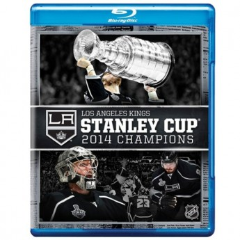 Los Angeles Kings DVD Blu-Ray 2014 Stanley Cup Champions
