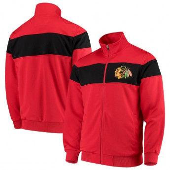 Chicago Blackhawks pánská bunda G-III Sports by Carl Banks Strength Full-Zip Track Jacket