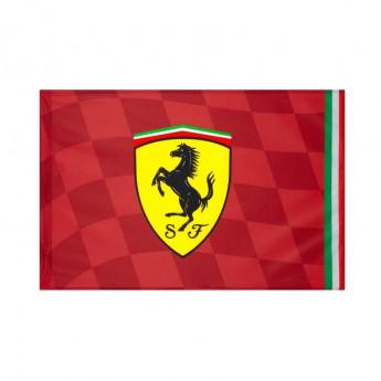 Ferrari vlajka red standart 120 x 90 cm F1 Team 2019