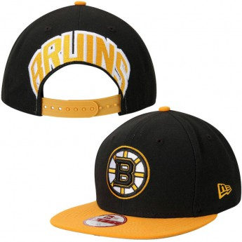 Boston Bruins čepice flat kšiltovka New Era Mark Backer Original Fit 9FIFTY Snapback