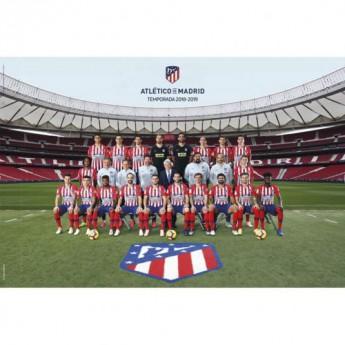 Atletico Madrid plakát Poster Squad 66