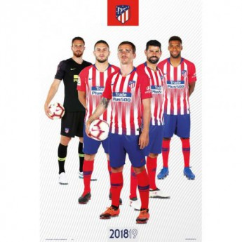 Atletico Madrid plakát Players 65