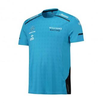 Williams Martini Racing pánské tričko Team blue F1 Team 2019