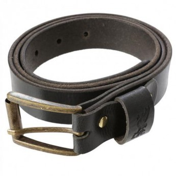 FC Liverpool kožený opasek Leather Belt Medium BK