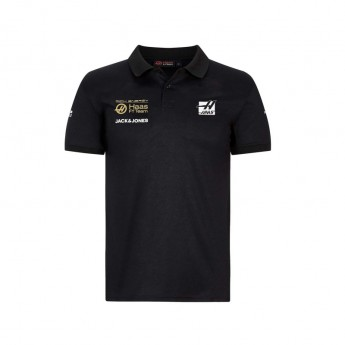 Haas F1 pánské polo tričko Energy black F1 Team 2019
