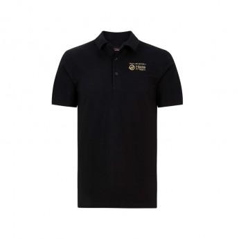 Haas F1 pánské polo tričko Energy Logo black F1 Team 2019