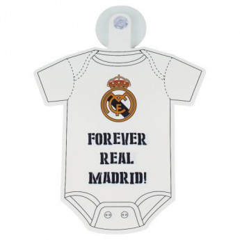 Real Madrid mini body do auta Baby On Board Sign
