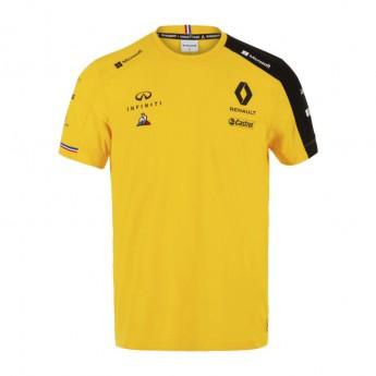 Renault F1 pánské tričko Team yellow F1 Team 2019