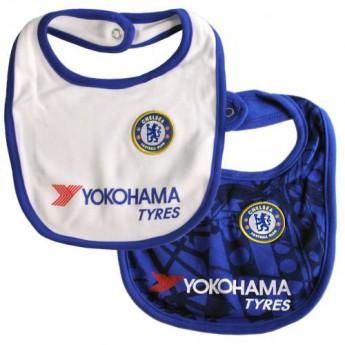 FC Chelsea dětský bryndák 2 Pack Bibs CM