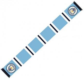 Manchester City zimní šála Bar Scarf ST