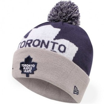 Toronto Maple Leafs zimní čepice New Era Woven Biggie 2 Knit
