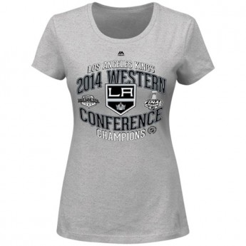 Los Angeles Kings dámské tričko 2014 Western Conference Champions Five Hole