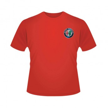 Alfa Romeo Racing pánské tričko Logo Red F1 Team 2019