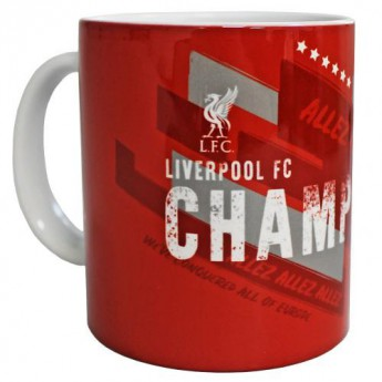 FC Liverpool hrníček Champions Of Europe Mug