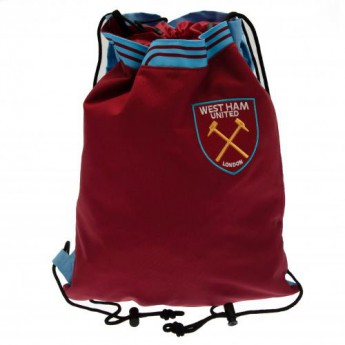West Ham United pytlík gym bag Drawstring Backpack